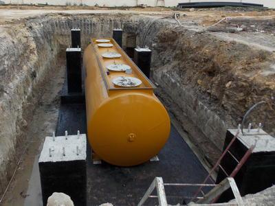 резервуары для топлива подземные